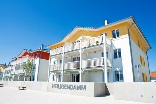 TUI Hotel Resort Marina Boltenhagen, Boltenhagen, Mecklenburg_Western Pomerania, Germany, Europe : Stock Photo