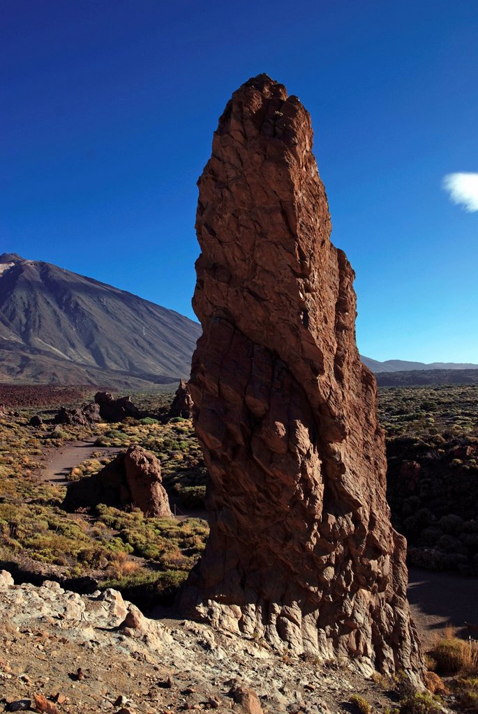 Stock Photo: 1848-609768 Roques de Garcia, Mount Teide, or Pico del Teide, Tenerife, Canary Islands, Spain, Europe