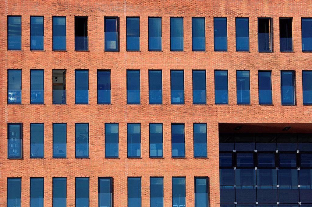 Stock Photo: 1848-611443 Modern architecture, facade, windows
