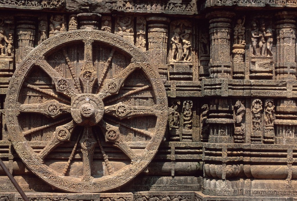 Stock Photo: 1848-612308 Sun Temple, UNESCO_Weltkulturerbe, Konarak, Konark, Orissa, India, Asia