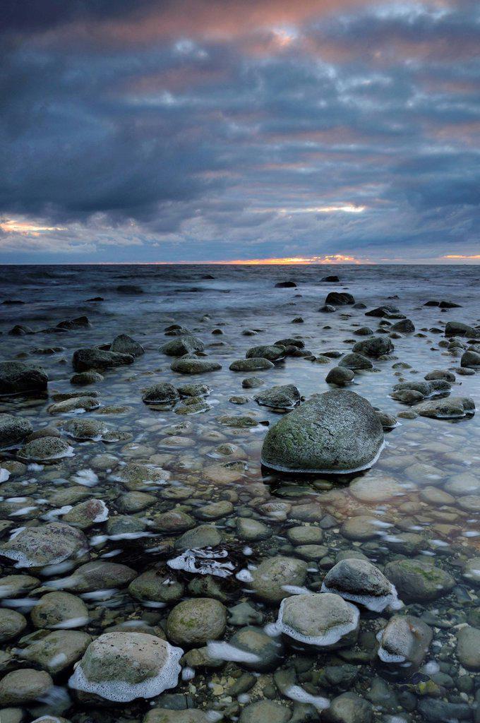 Stock Photo: 1848-614217 Baltic coast at Cape Arkona, Ruegen island, Mecklenburg_Western Pomerania, Germany, Europe