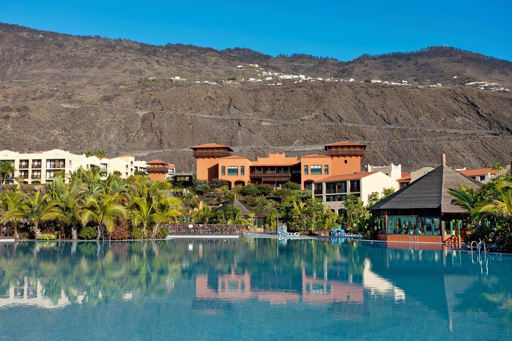 Stock Photo: 1848-614280 La Palma Princess Hotel, Las Indias, Fuencaliente, La Palma island, Canary Islands, Spain, Europe