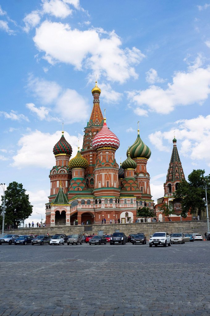 Stock Photo: 1848-615325 Saint Basil´s Cathedral, Moscow, Russia, Eurasia