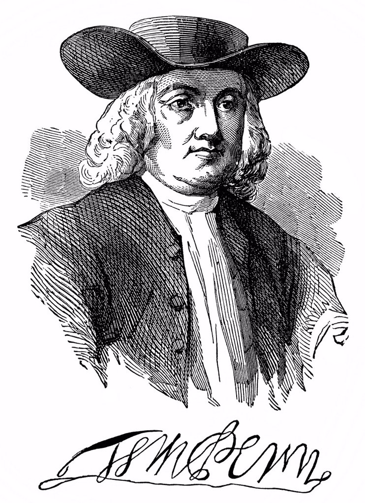 a history of pennysylvania colony founded by william penn