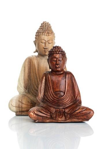 Stock Photo: 1848-61900 Buddha statues