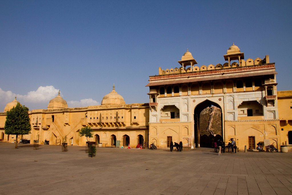 Stock Photo: 1848-620008 Amber Fort, near Jaipur, Rajasthan, India, Asia