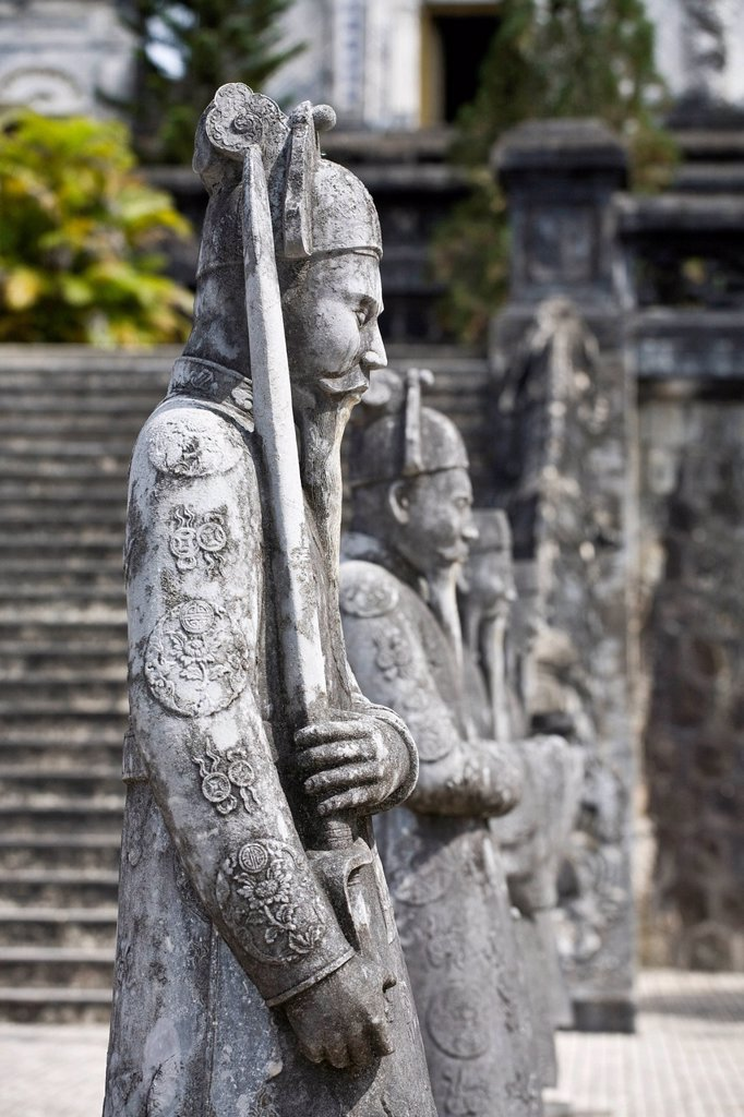 Grave of Emperor Khai Dinh, Hue, Vietnam, Southeast Asia, Asia : Stock Photo