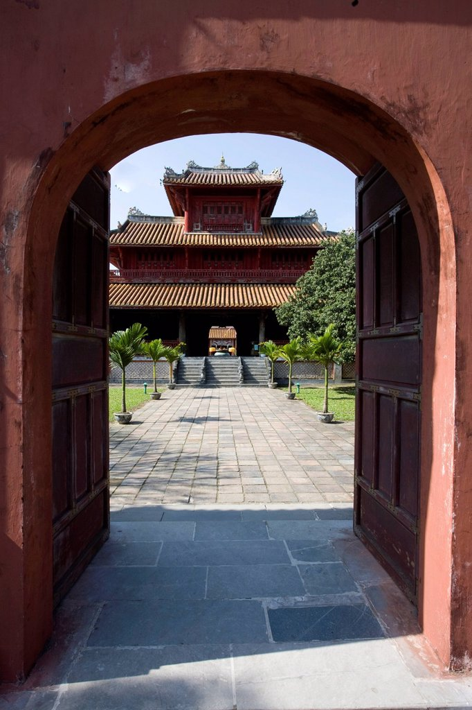 Stock Photo: 1848-621650 Citadel of Hue, Vietnam, Southeast Asia, Asia