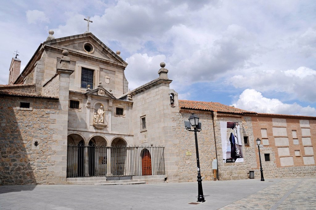 Stock Photo: 1848-622492 Convento de San Jose, monastery, church, Avila, Castile_Leon, Spain, Europe, PublicGround