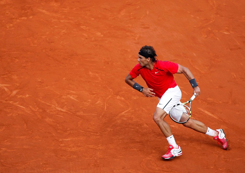 Stock Photo: 1848-624071 Rafael Nadal, ESP, French Open 2012, ITF Grand Slam tennis tournament, Roland Garros, Paris, France, Europe
