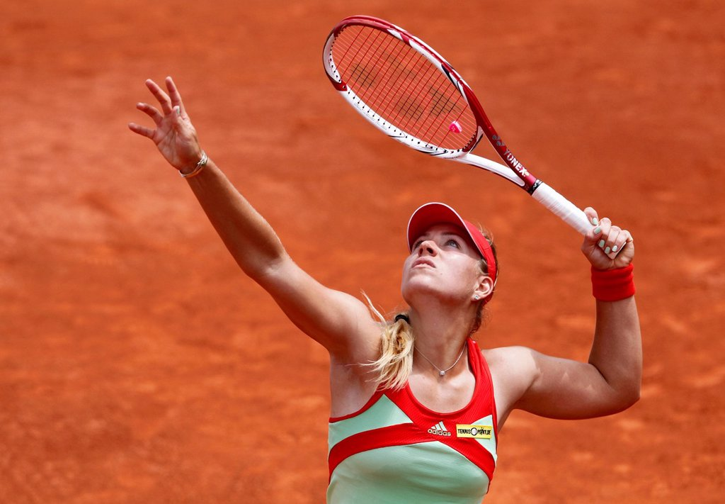 Angelique Kerber, GER, French Open 2012, ITF Grand Slam tennis tournament, Roland Garros, Paris, France, Europe : Stock Photo