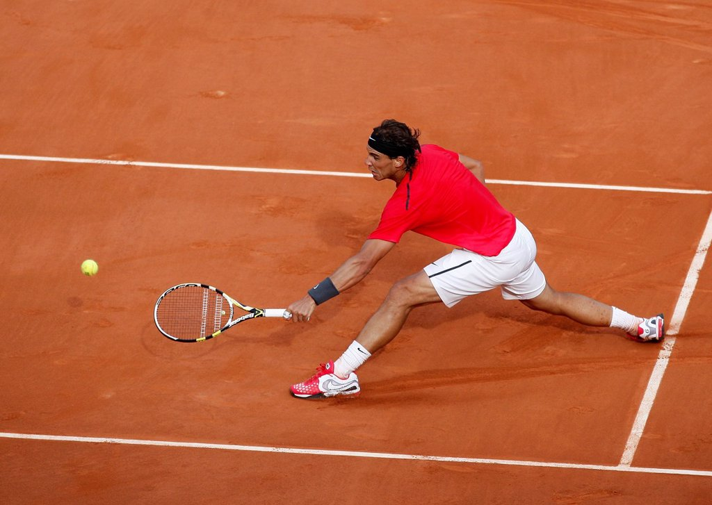 Stock Photo: 1848-625033 Rafael Nadal, ESP, French Open 2012, ITF Grand Slam tennis tournament, Roland Garros, Paris, France, Europe