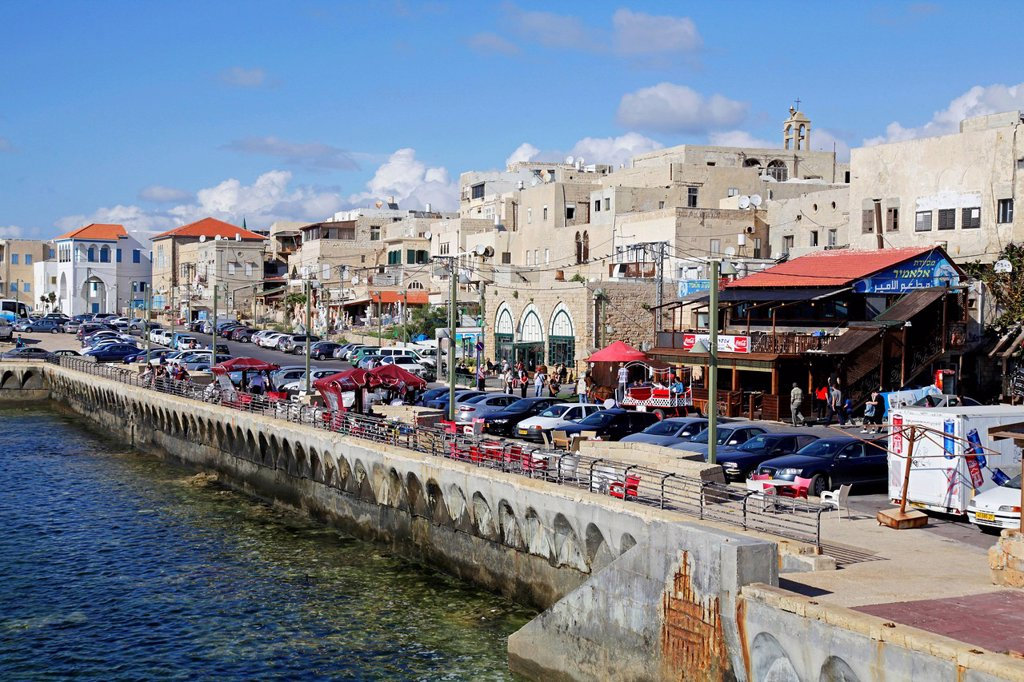 Port, Acre, Israel, Middle East : Stock Photo