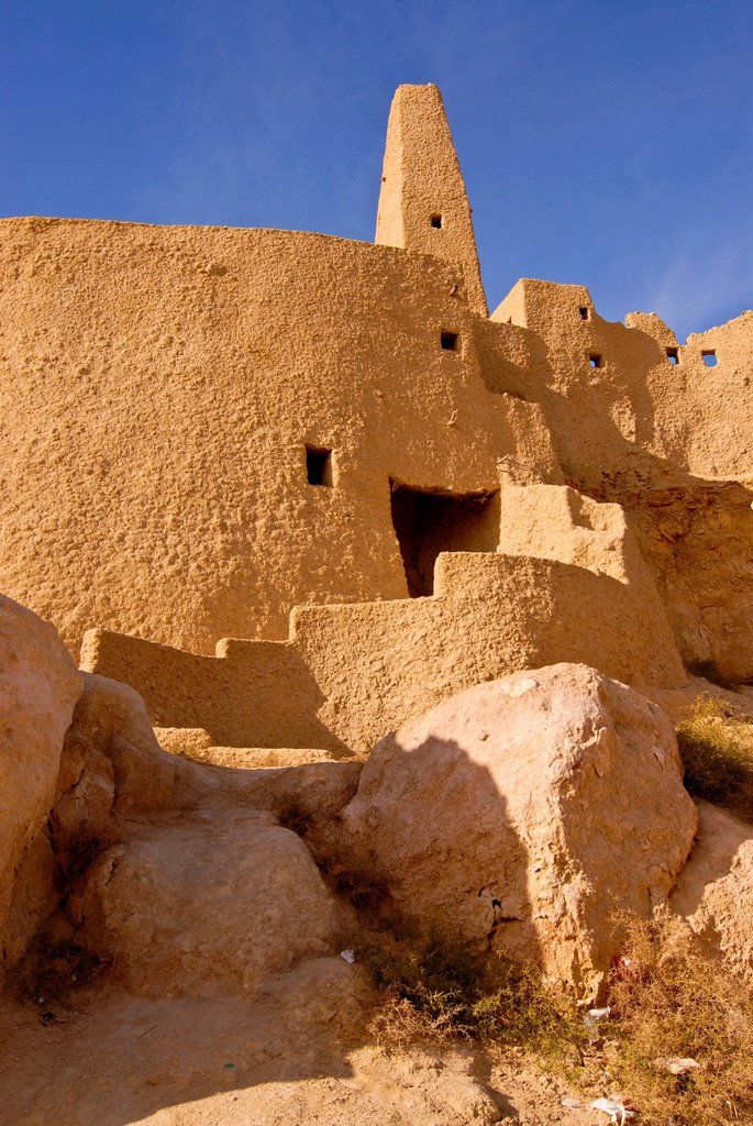 Stock Photo: 1848-630488 Temple of the Oracle, Siwa Oasis, Egypt, Africa
