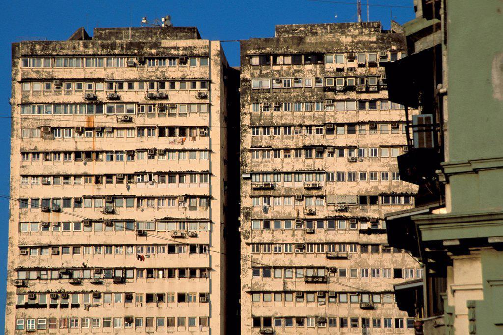 Skyscrapers, Mumbai, Bombay, Maharashtra, India, Asia : Stock Photo