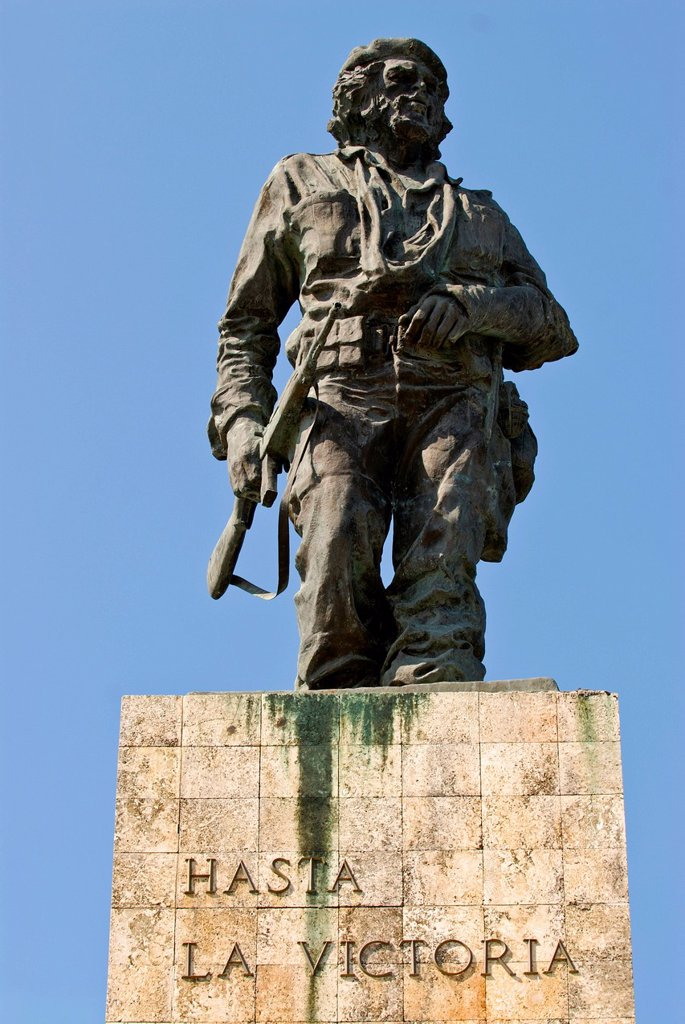 Stock Photo: 1848-647848 Che Guevara monument in Santa Clara, Cuba, Caribbean