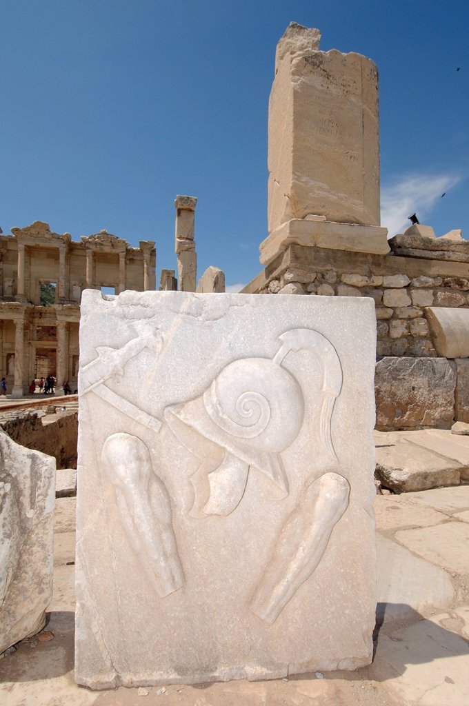 Antique city of Ephesus, Efes, Turkey, Western Asia : Stock Photo