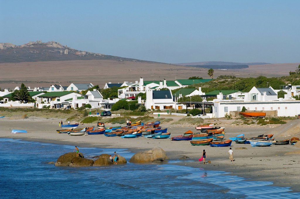 Paternoster, a fishing village on the Atlantic Coast, Western Cape, South Africa, Africa : Stock Photo
