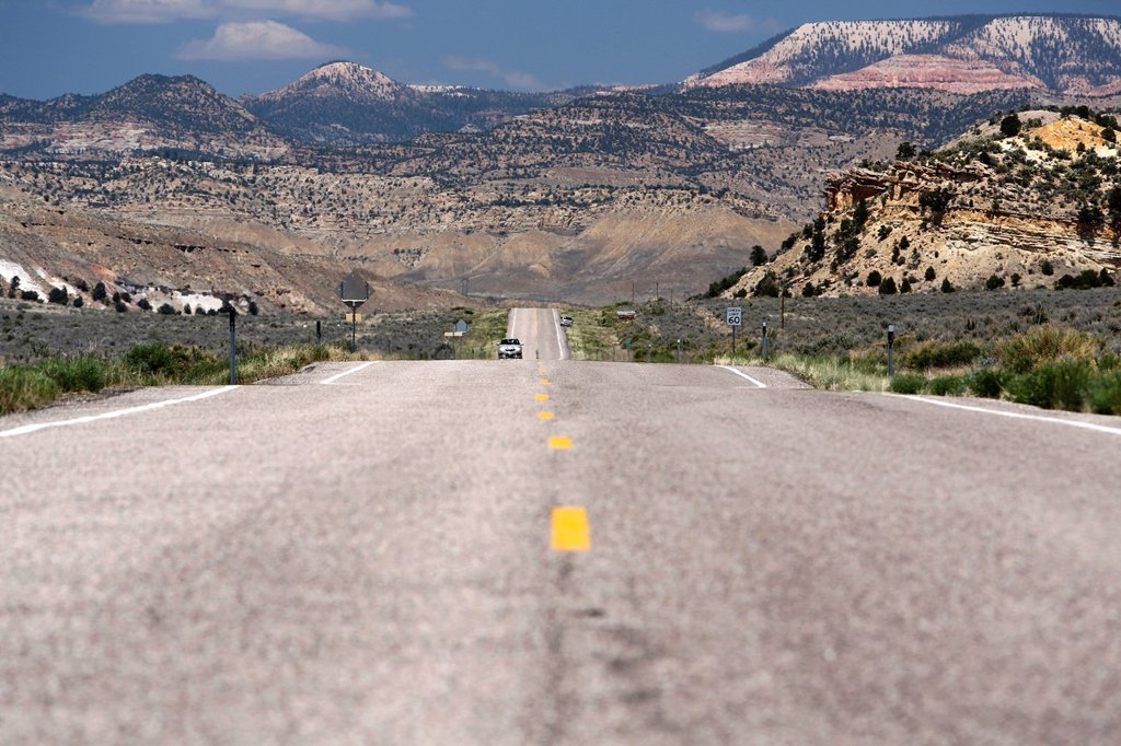 Highway 12 Scenic Byway, Utah, USA : Stock Photo
