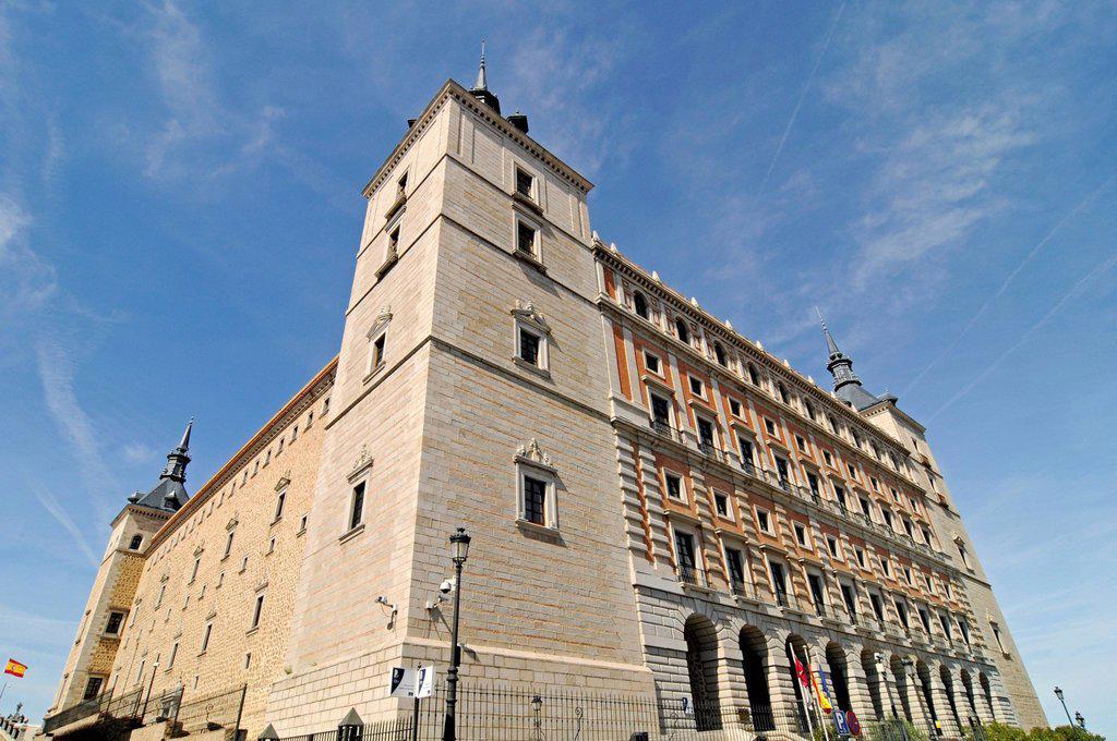 Stock Photo: 1848-659901 Library, Alcazar, castle, Toledo, Castile_La Mancha, Spain, Europe, PublicGround