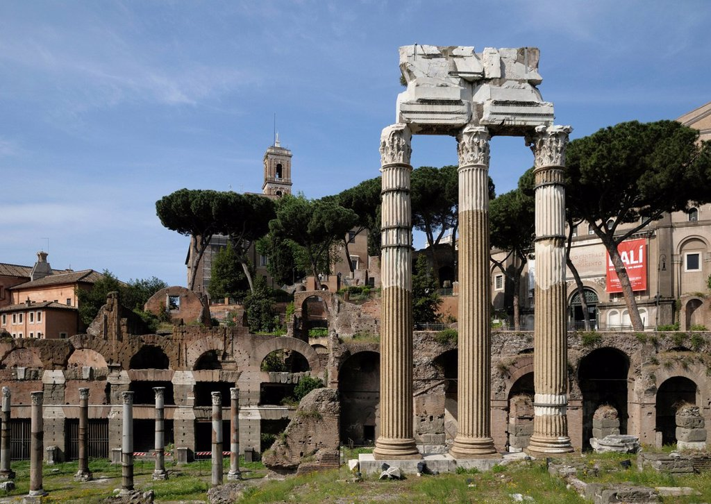 Imperial Forum, Rome, Italy, Europe, PublicGround : Stock Photo