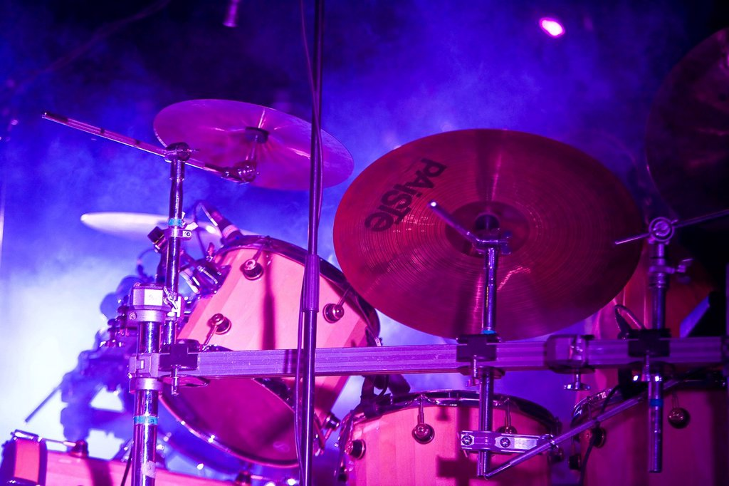 Stock Photo: 1848-660609 Drum set
