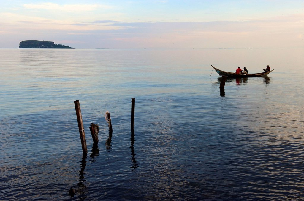 Stock Photo: 1848-662662 Musila Island in Lake Victoria, Bukoba, Tanzania, Africa