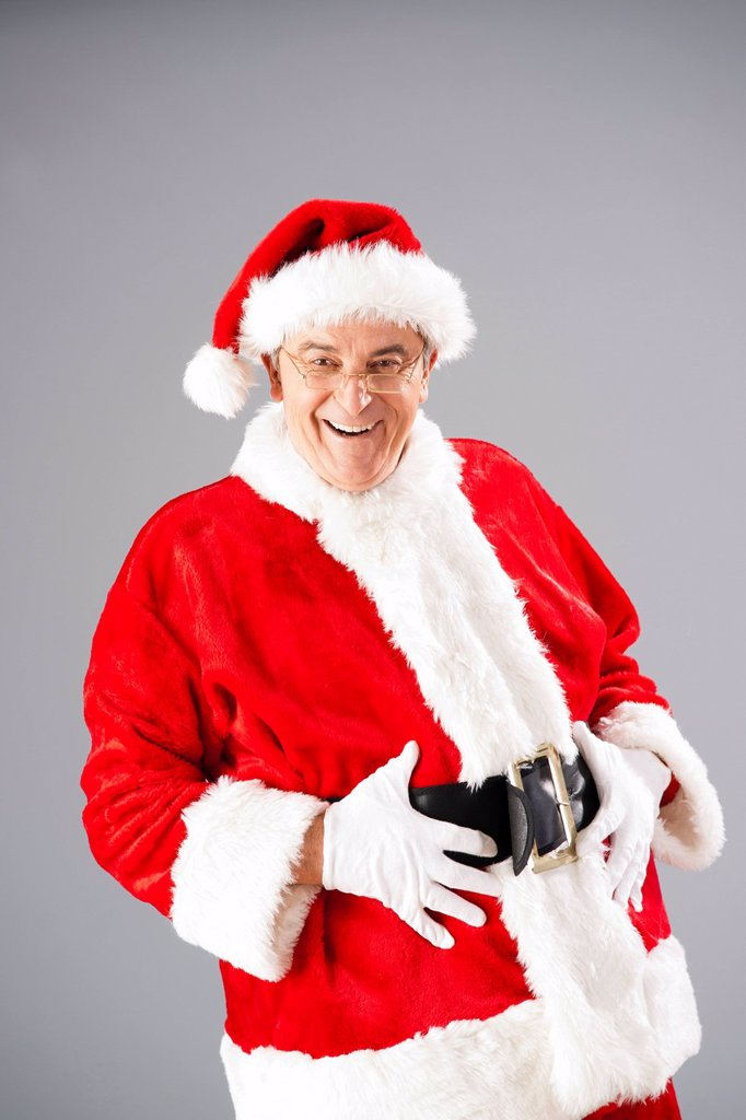 Stock Photo: 1848-662990 Laughing Santa Claus