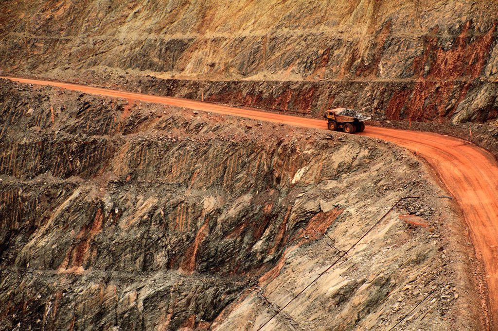 Super Pit gold mine, Kalgoorlie, Western Australia : Stock Photo