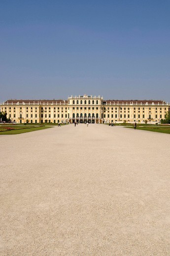 Schoenbrunn Palace, Vienna, Austria : Stock Photo