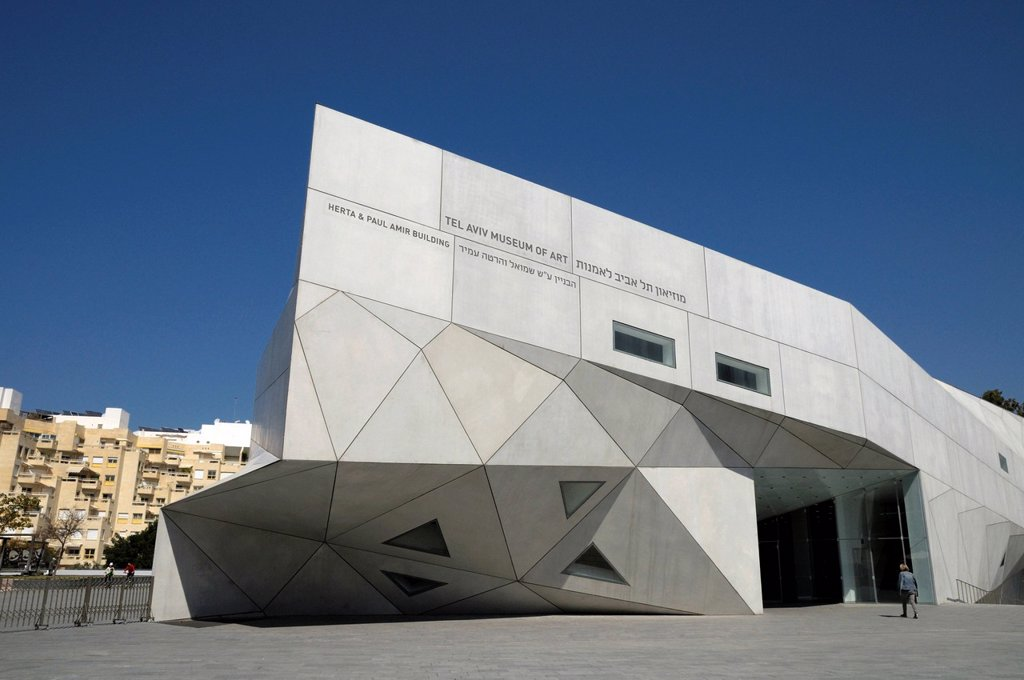 Stock Photo: 1848-683440 Tel Aviv Museum of Art, Tel Aviv, Israel, Middle East