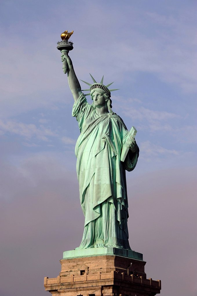 Stock Photo: 1848-683493 Statue of Liberty, Miss Liberty, Liberty Island, New Jersey, New York, United States of America, USA, North America