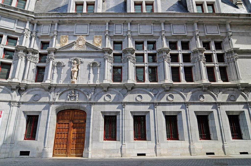 Ancien Palais de Justice palace of justice, Place de Saint Andre, Grenoble, Rhone_Alpes, France, Europe : Stock Photo