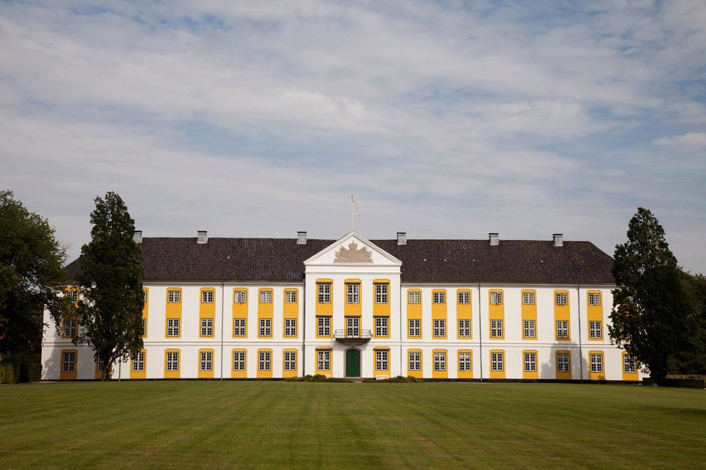 Stock Photo: 1848-690209 Augustenborg Slot, Augustenborg Palace, Als, South Jutland, Denmark, Scandinavia, Europe