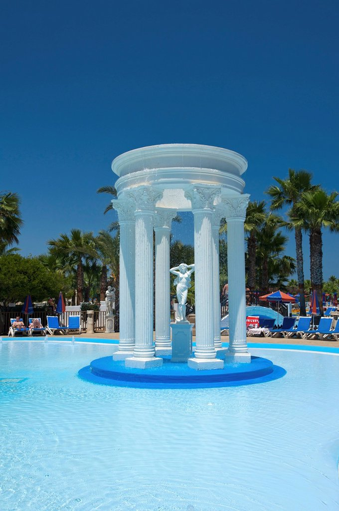 Water World Water Park in Ayia Napa, Southern Cyprus, Cyprus : Stock Photo