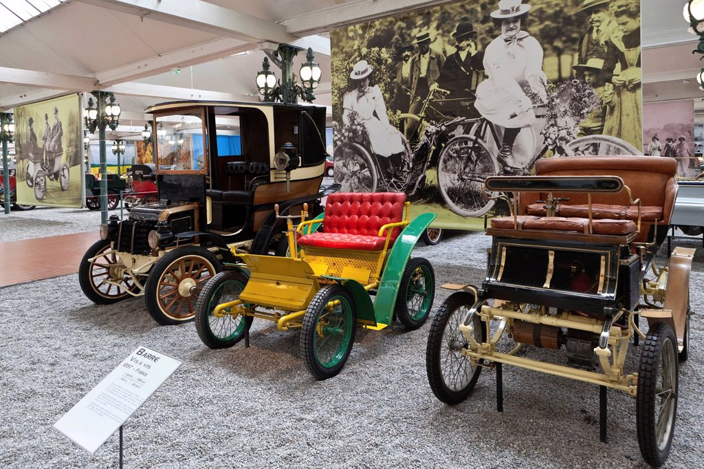Stock Photo: 1848-691862 Automobiles, Collection Schlumpf, Cité de l´Automobile, Musée National, National Automobile Museum, Mulhouse, Alsace, France, Europe