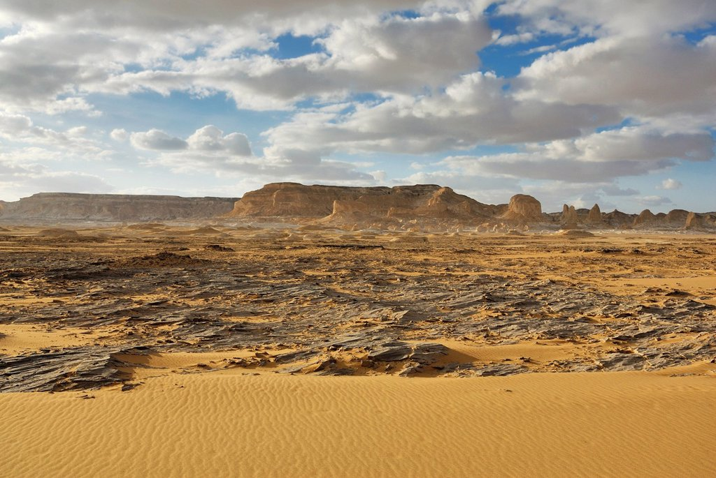 Stock Photo: 1848-693774 White Desert, Farafra Oasis, Western Desert, Egypt, Africa