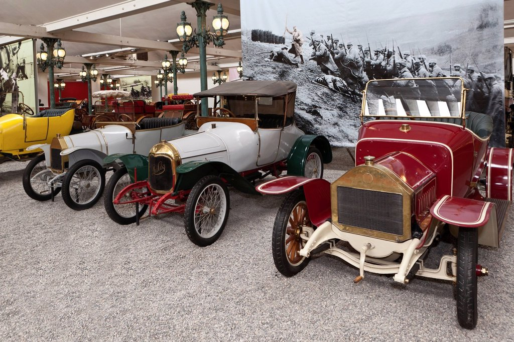 Stock Photo: 1848-694357 Daracco, Collection Schlumpf, Cité de l´Automobile, Musée National, National Automobile Museum, Mulhouse, Alsace, France, Europe