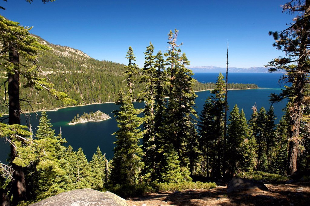 Stock Photo: 1848-696021 Emerald Bay, Lake Tahoe, California, USA