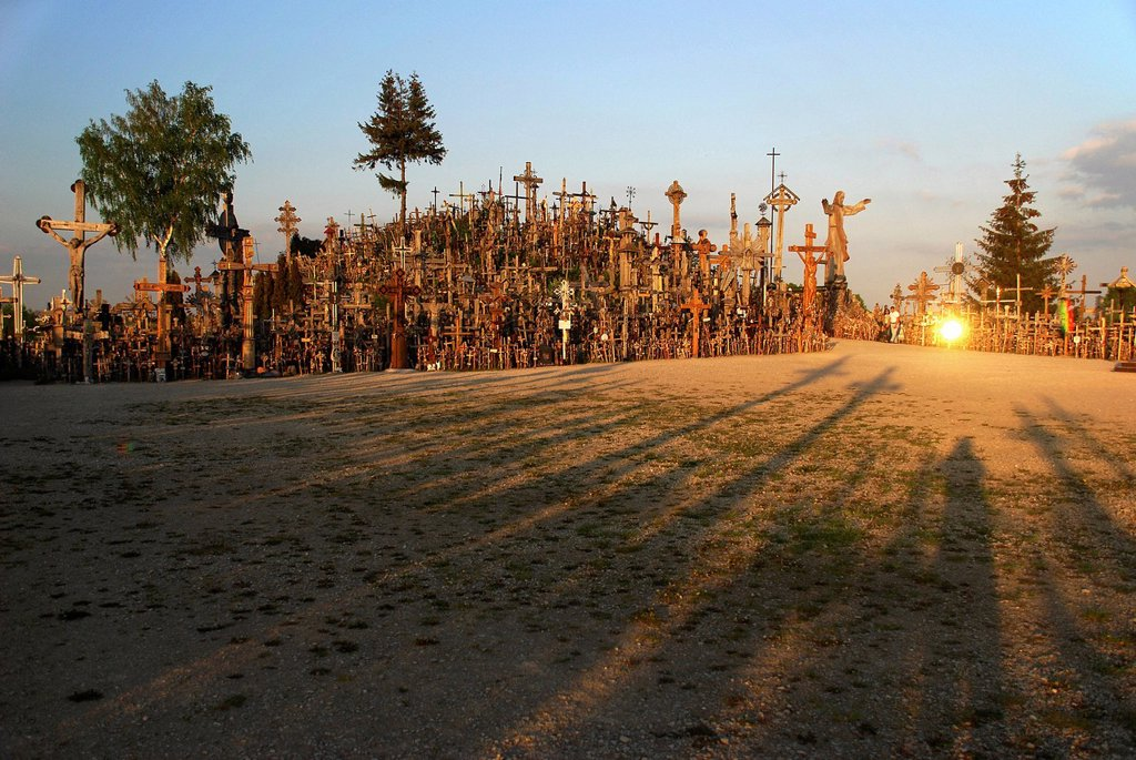 Stock Photo: 1848-698275 Hill of Crosses, aeiauliai, Lithuania, Northern Europe, Europe