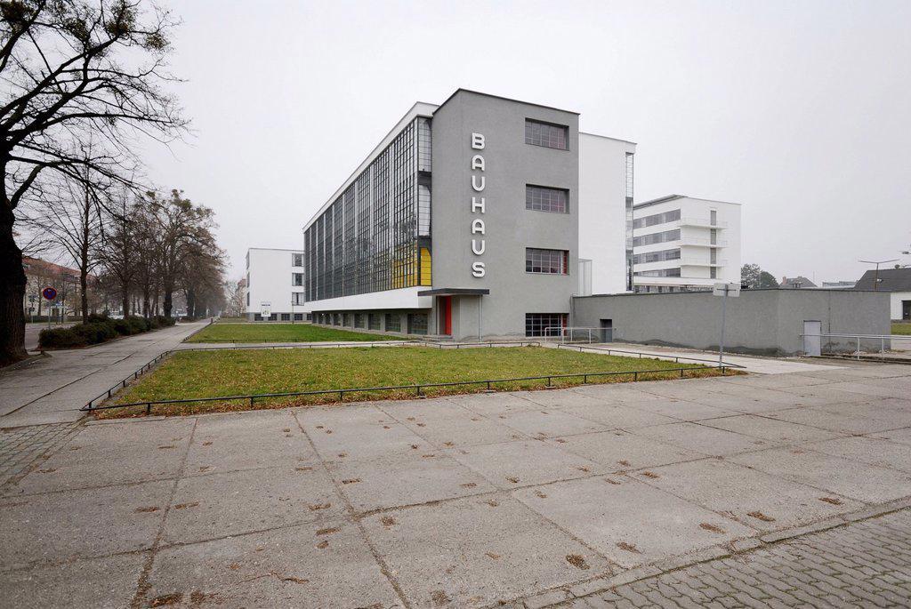 Stock Photo: 1848-705162 Bauhaus, Dessau, Saxony_Anhalt, Germany, Europe