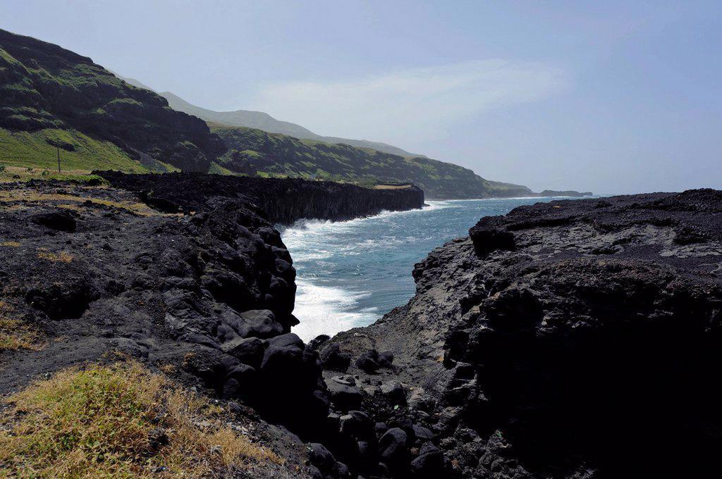 Stock Photo: 1848-706732 Coast of Ponta da Salina, Fogo, Cape Verde, Africa