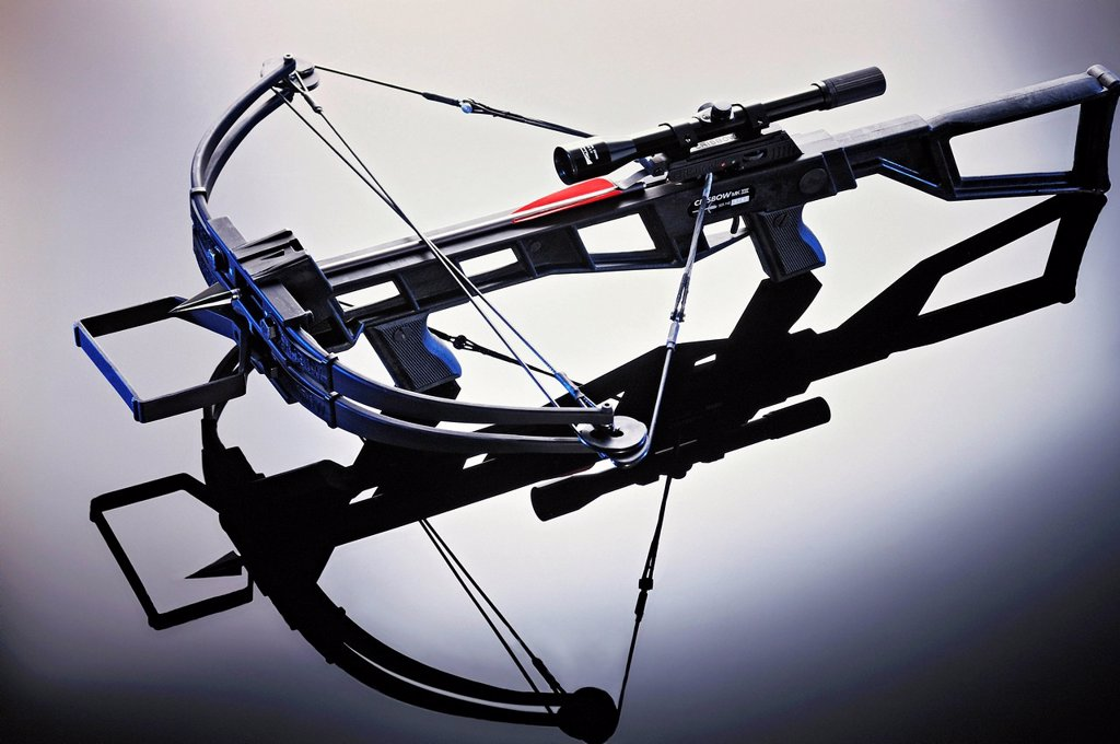 Stock Photo: 1848-710168 Modern crossbow