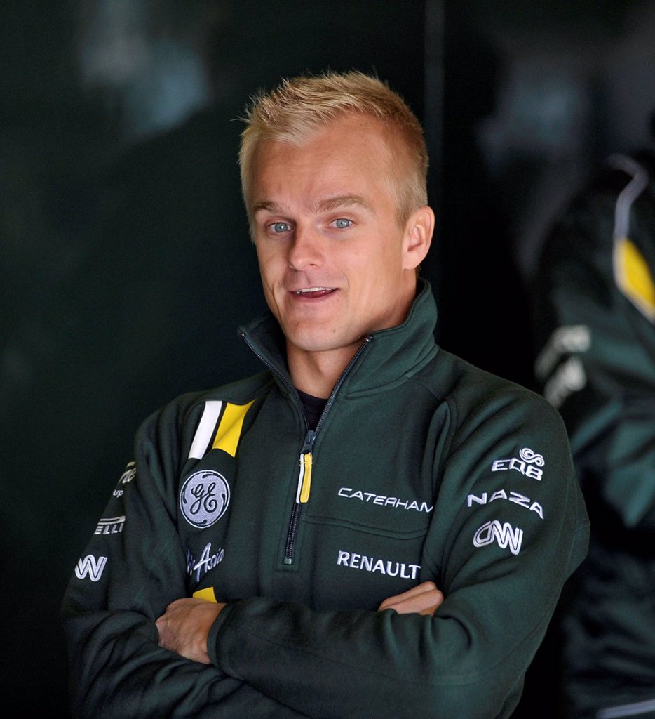 Stock Photo: 1848-712504 Heikki Kovaleinen, FIN, Caterham, Formula 1 test drives, 21._24.2.2012, Circuito de Catalunya near Barcelona, Spain, Europe