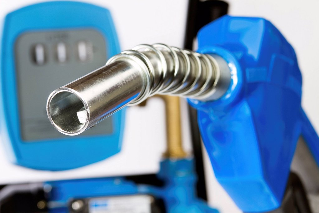 Diesel refuelling system : Stock Photo