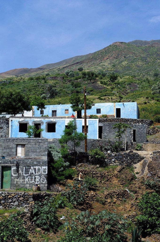 Stock Photo: 1848-712941 Achada Furna, Fogo, Cape Verde, Africa
