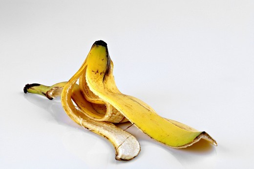 Banana peel : Stock Photo