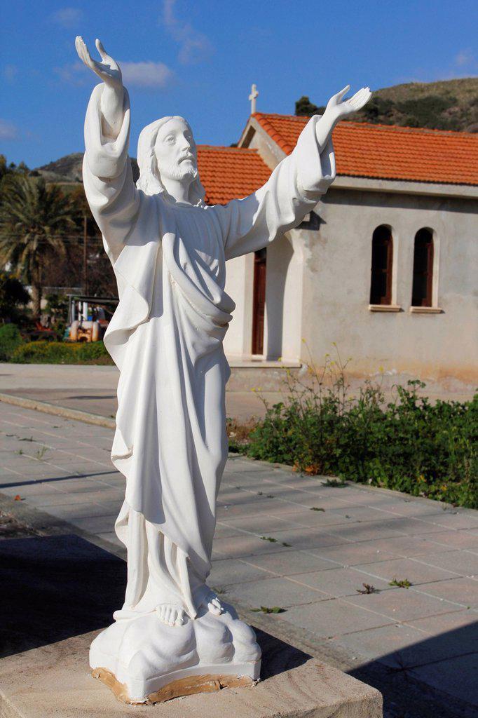 Stock Photo: 1848-724429 Church in Fasoula near Paphos, Cyprus, Greece, Europe