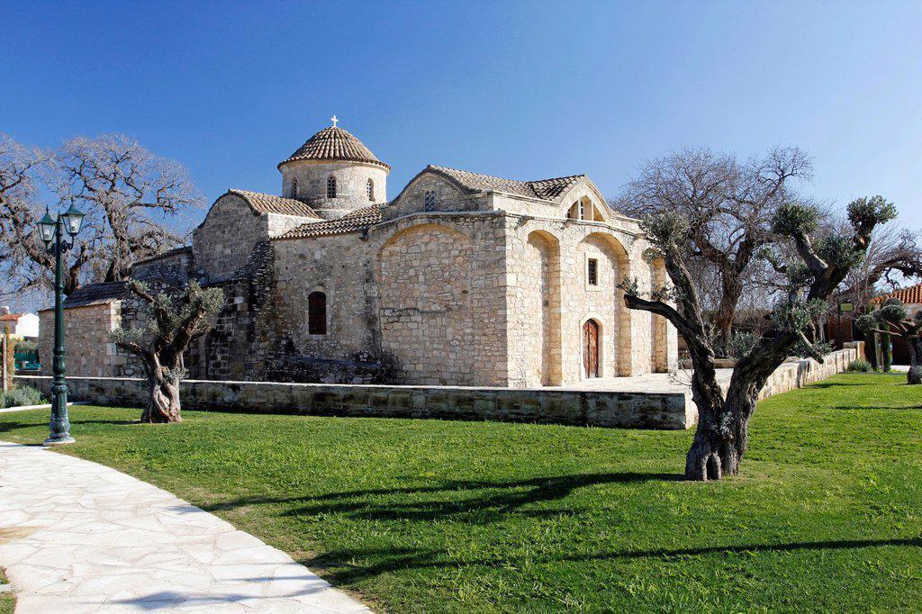 Stock Photo: 1848-725202 Byzantine church of Panagia Angeloktisti Kiti, Southern Cyprus, Cyprus, Greece, Europe