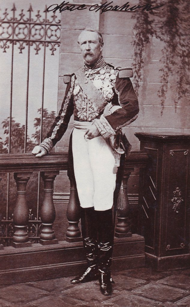 Stock Photo: 1848-727708 Historical photography, portrait of Marie Edme Patrice Maurice, Comte de Mac_Mahon, Duc de Magenta, 1808_1893, French general and statesman, marshal of France and second president of the Third Republic
